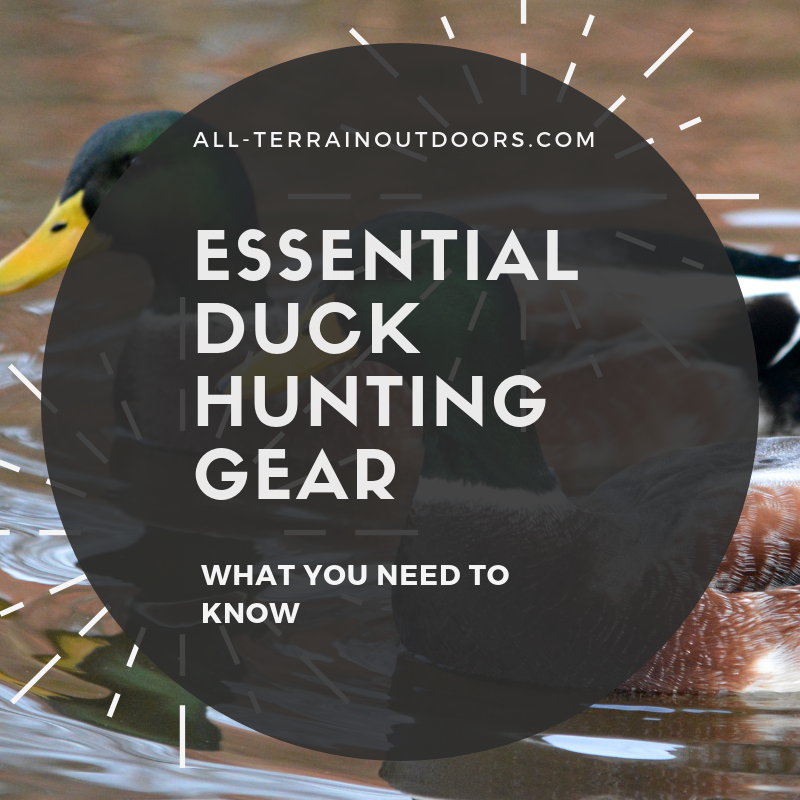 essential duck hunting gear
