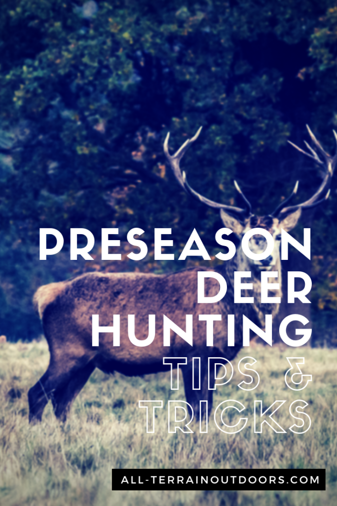 pre season deer hunting tips