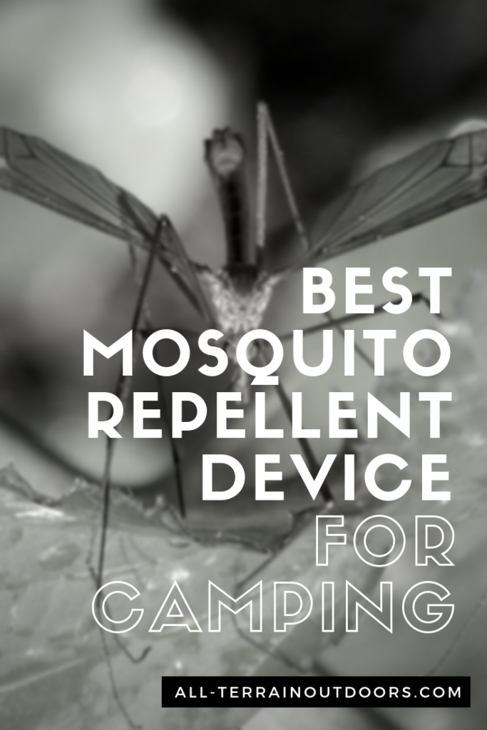 best mosquito repellent device for camping
