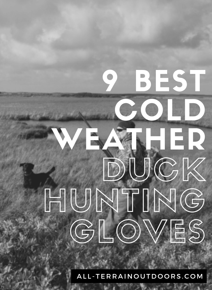 best cold weather duck hunting gloves