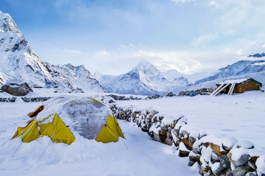 cold weather tents with stoves
