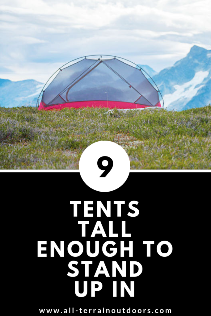 9 Tents Tall Enough To Stand Up In A Guide For Tall People