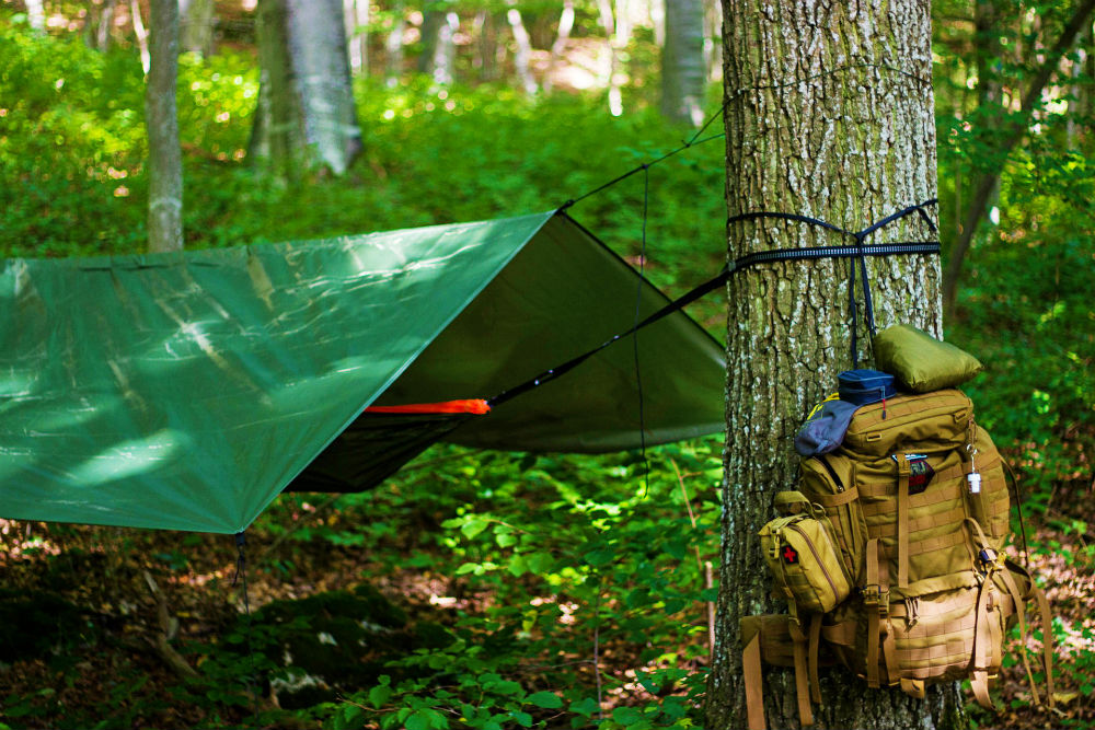 camping in the rain checklist
