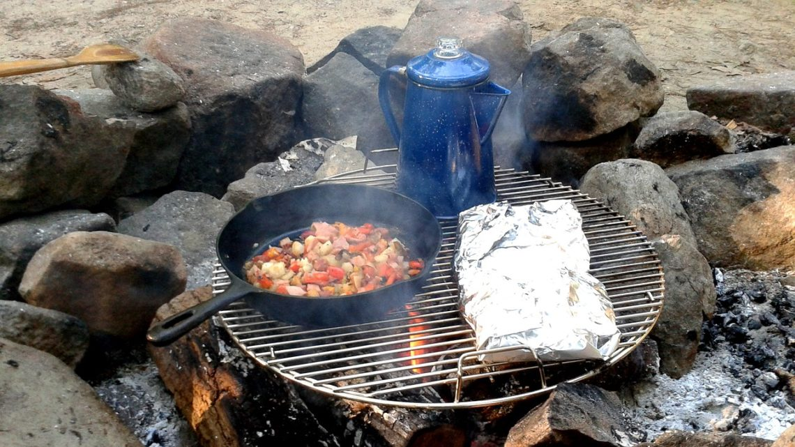 how to use a camping coffee percolator