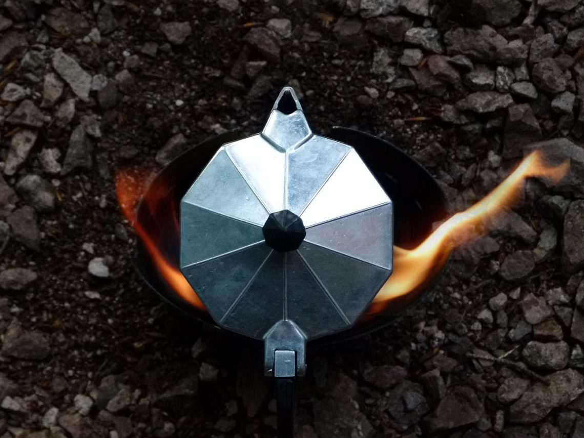 coffee camping percolator